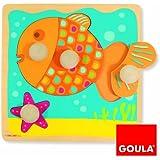 Goula Holzpuzzle Fisch, niveau 1