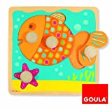 Goula Holzpuzzle Fisch