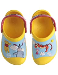 Crocs Kids Unisex CC Winnie the Pooh Jumps Synthetic Clogs and Mules