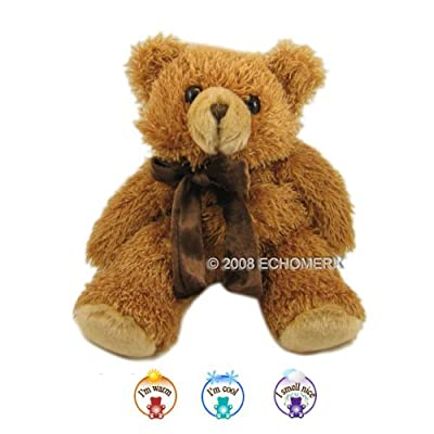 Aromatherapy Latte Teddy Bear Warm Cuddle Microwavable Hot & Cold