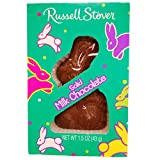 Russell Stover Easter Solid Milk Chocolate Bunny 1.3 Oz (3 Pack)