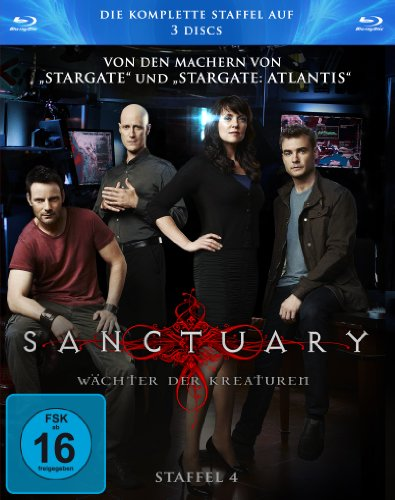 Sanctuary - Staffel 4 [Blu-ray]
