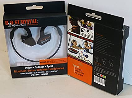 H2O Survival HSBT006 HydroAudio Bluetooth Headset
