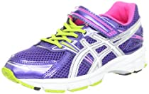 ASICS GT-1000 PS Running Shoe (Toddler/Little Kid/Big Kid),Grape/White/Hot Pink,3 M US Little Kid