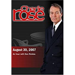 Charlie Rose -An hour with Don Rickles (August 30, 2007)