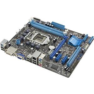 ASUS P8H61-M LE/CSM <REV 3.0> Intel H61 Chipset DDR3 1333 Micro ATX Motherboard