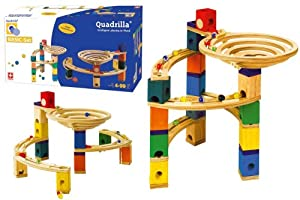 Quadrilla Marble Railway, Basic Set