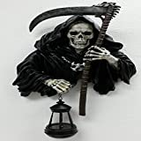 Grim Reaper w/  Candle Lantern Halloween Decor