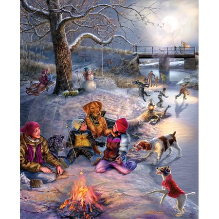 Cheap SunsOut James Meger Winter places 1500pc Jigsaw Puzzle (B001YK1NGA)