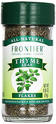 Frontier Thyme Leaf Cut and Sifted, 0.85-Ounce Bottle