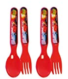 DISNEY CARS FLATWARE RUSTEZE RACING
