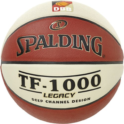 Spalding Basketball TF1000 Fiba Women 74-588z, Orange, 6, 3001504010316