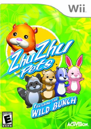 Zhu Zhu Pets Wild Bunch - Nintendo Wii front-302534