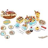 Ginzick Kids Birthday Cake Play Food Playset
