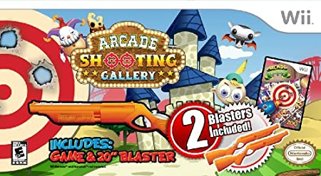 Arcade Shooting Gallery - 2 Gun Bundle
