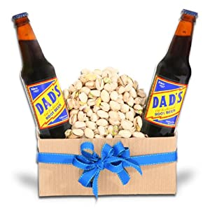 Pistachio Lovers Dream Gift Basket for Dad by Organic Stores