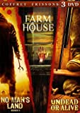echange, troc Coffret 3 DVD frissons : No man's land / Farm house / Undead or alive