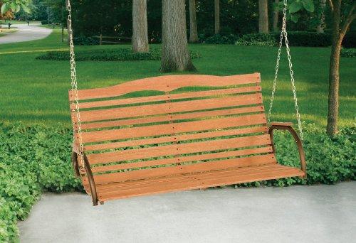Jack Post CG-05Z Country Garden Swing Seat, Bronze Home