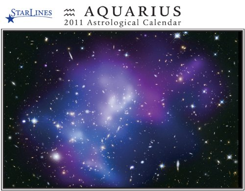 Aquarius Starlines Astrological Calendar