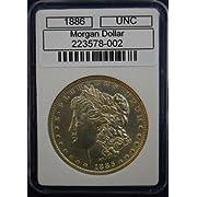 1886 P MORGAN SILVER DOLLAR UNCIRCULATED (UNC)