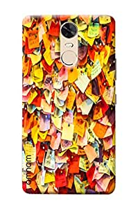 Omnam Flags feedback Printed back cover for Lenovo K5 Note