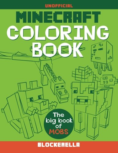 Download Minecraft Coloring Book: The Big Book of Mobs