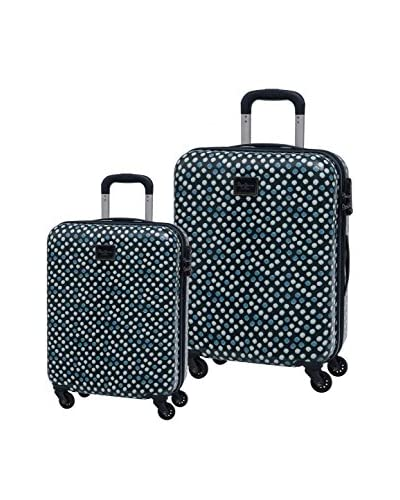 Pepe Jeans Set 2 Trolley Rigido  Blu Navy