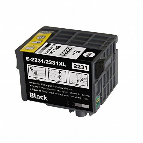 Nextpage Remanufactured Compatible Epson 223XL T223XL T223XL120 Black Ink Cartridge (Pigment) Replacement Use With Epson WorkForce WF-M1030/WF-M1560 Monochrome Inkjet Printer
