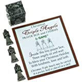 Triple Angels Prayer Box and Charms