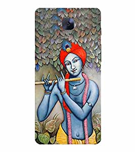 LORD KRISHNA Designer Back Case Cover for One Plus Three