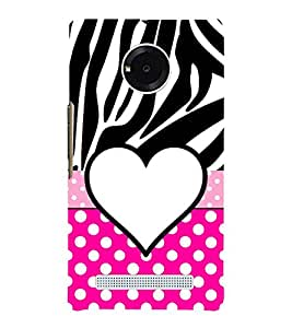 Love Dhoka 3D Hard Polycarbonate Designer Back Case Cover for YU Yureka AO5510