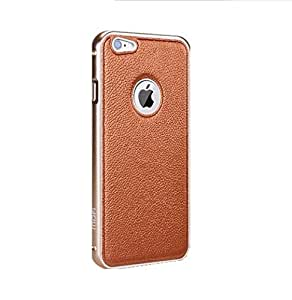 Back Cover plus Bumper (All in One) for Iphone 6 - Gold
