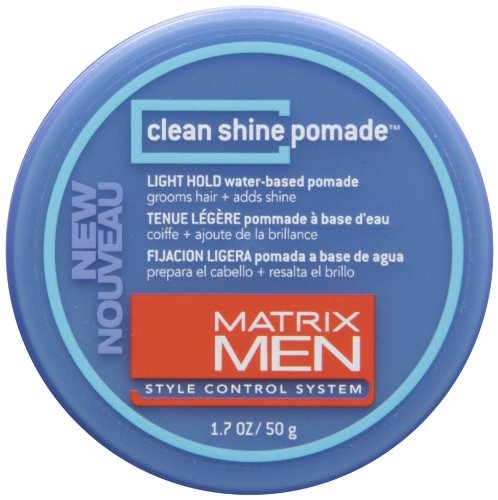 Clean Shine Pomade Light Hold Men Pomade by Matrix, 1.7 Ounc
