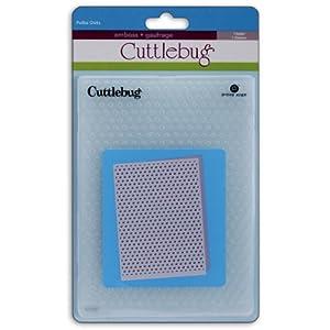 Cuttlebug 5-Inch-by-7-Inch Embossing Folder, Polka Dots