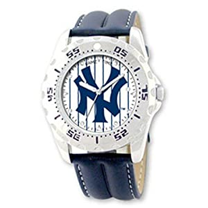 NSNSW25673Q-Mlb Officially Licensed Championship New York Yankees Watch - Water... by MLB Officially Licensed