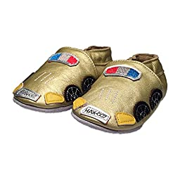 Baby Rae Infant/Toddler GoldCar Soft Sole Leather Shoes