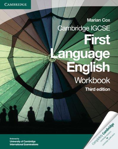 Cambridge IGCSE First Language English Workbook (Cambridge International IGCSE)