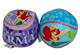 Disney The Little Mermaid vinyl Toss Ball - 2 Softee sport Balls featuring Princess Ariel