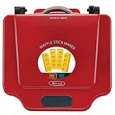 Bella Waffle Stick Maker ~ RED from Bella