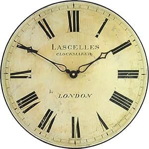 Roger Lascelles Classic Lascelles Wall Clock Amazon Co