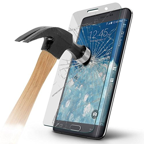 Note Edge Screen Protector,ChYu@Full Coverage Premium Tempered Glass Film Protector for Samsung Galaxy Note Edge N9150 (Clear) (Note Edge Tempered Glass compare prices)