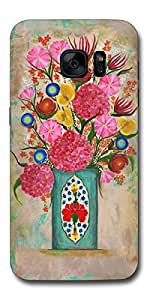 SEI HEI KI Designer Back Cover For Samsung Galaxy S7 - G930 - Multicolor