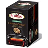 Red Rose Simply Indulgent Decaffeinated Cinnamon Streusel 6/20ct (Case of 6 Boxes)