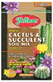 Hoffman 10404 Organic Cactus and Succulent Soil Mix, 4 Quarts