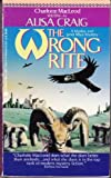 The Wrong Rite (A Madoc and Janet Rhys Mystery) (0380710439) by Charlotte MacLeod