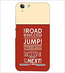 PrintDhaba Quote D-3715 Back Case Cover for LENOVO VIBE K5 PLUS (Multi-Coloured)