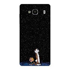Stylish Counting Stars Multicolor Back Case Cover for Redmi 2