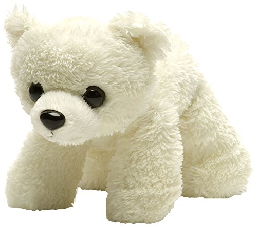 Wild Republic Hug Ems Polar Bear Plush Toy - 1