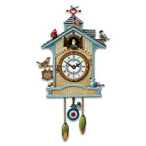 Peep 39 S Place Birdhouse Cuckoo Clock By The