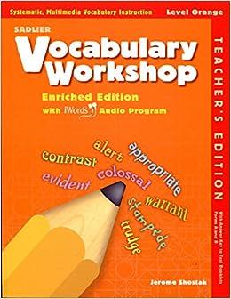 Vocabulary Workshop ©2011 Level Purple Teachers Edition Grade 2 ...